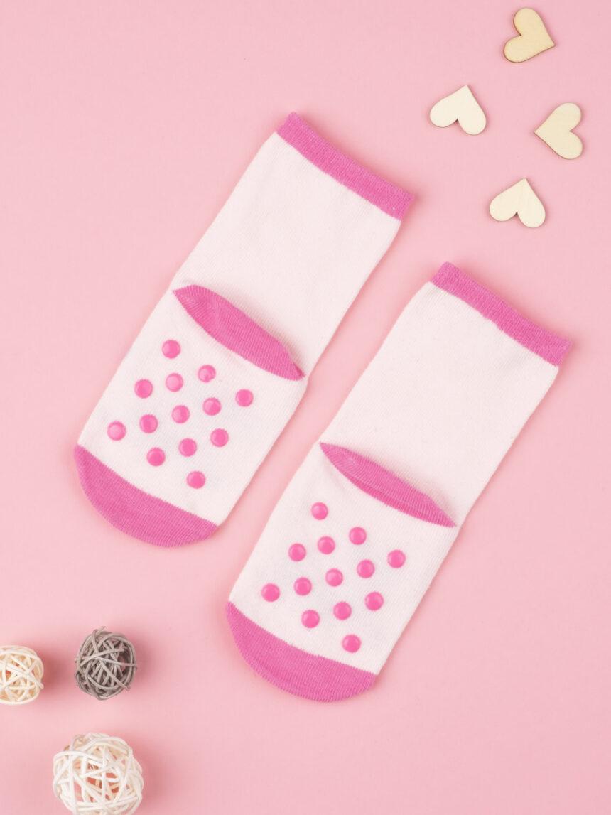 Bebês antiderrapantes rosa - Prénatal