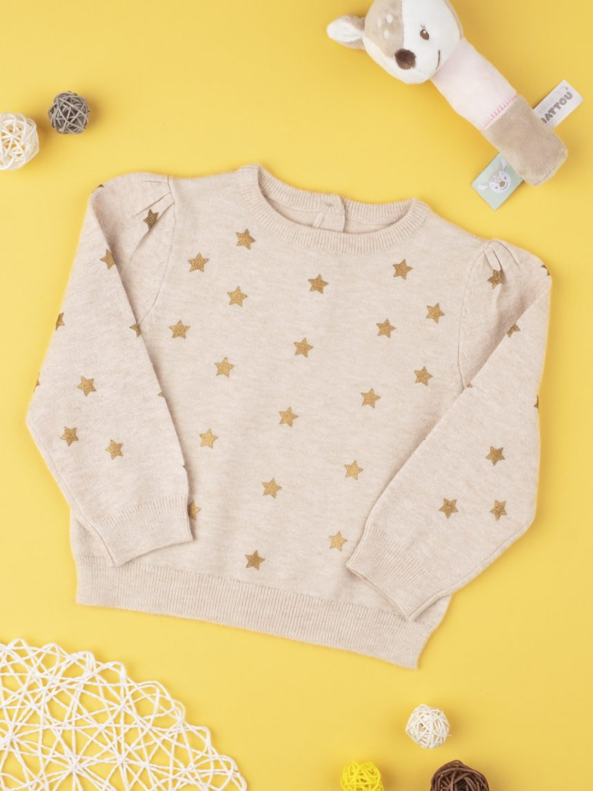 "Suéter tricot feminino ""stelle"" - Prénatal"