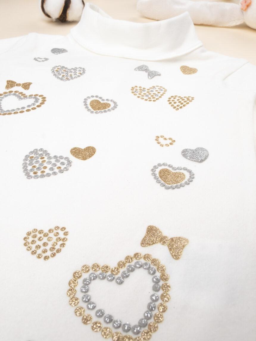 "Corpo em jersey ""hearts"" - Prénatal"