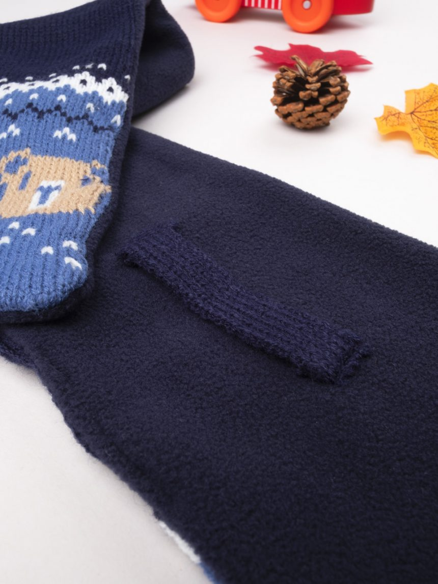 Cachecol tricot blue boy - Prénatal