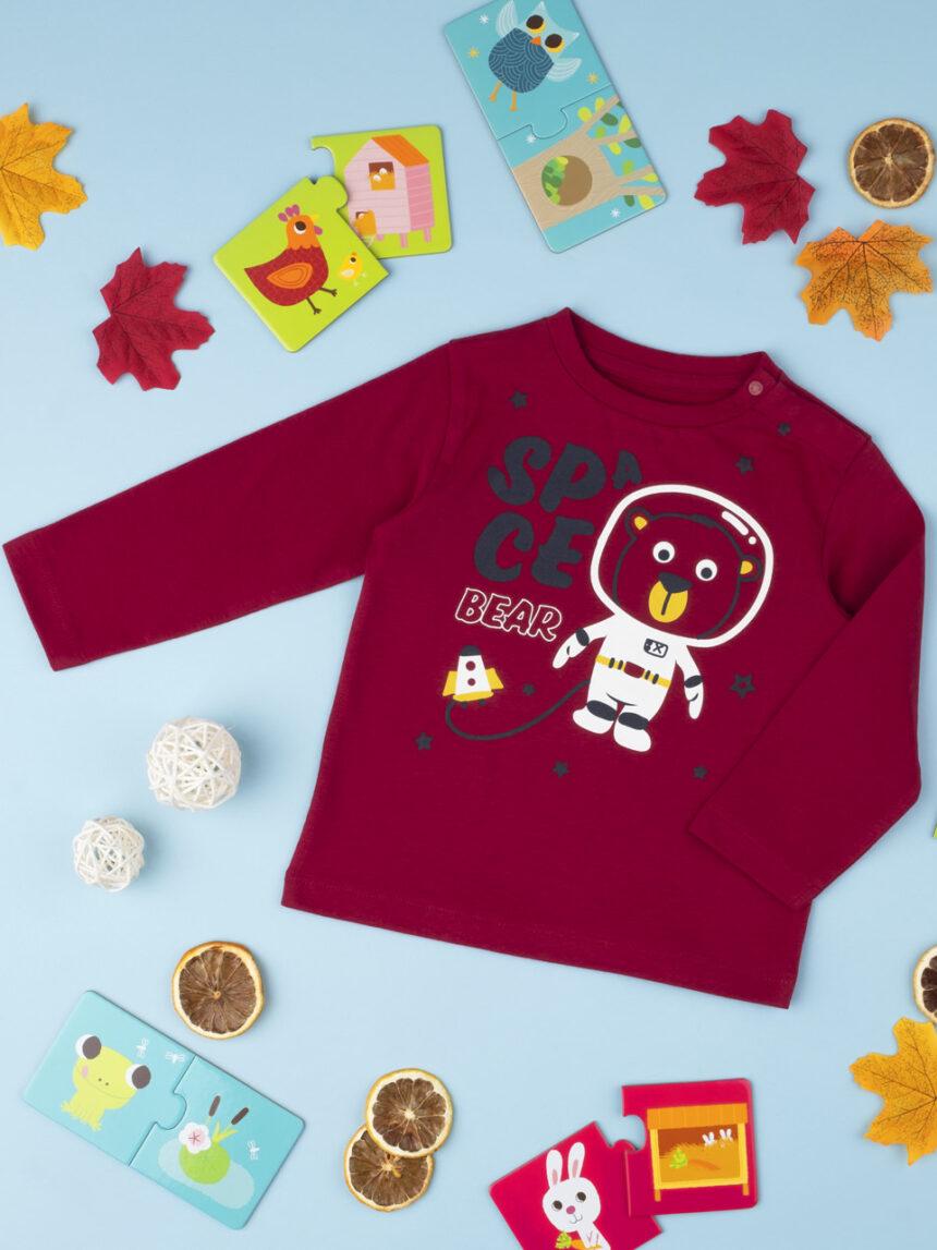 """T-shirt menino """"space bear"""" - Prénatal"""