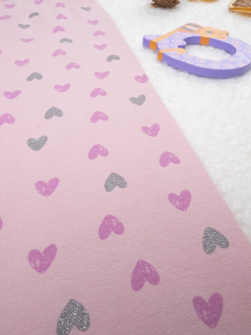 """Leggings """"corações"""" rosa - Prénatal"""