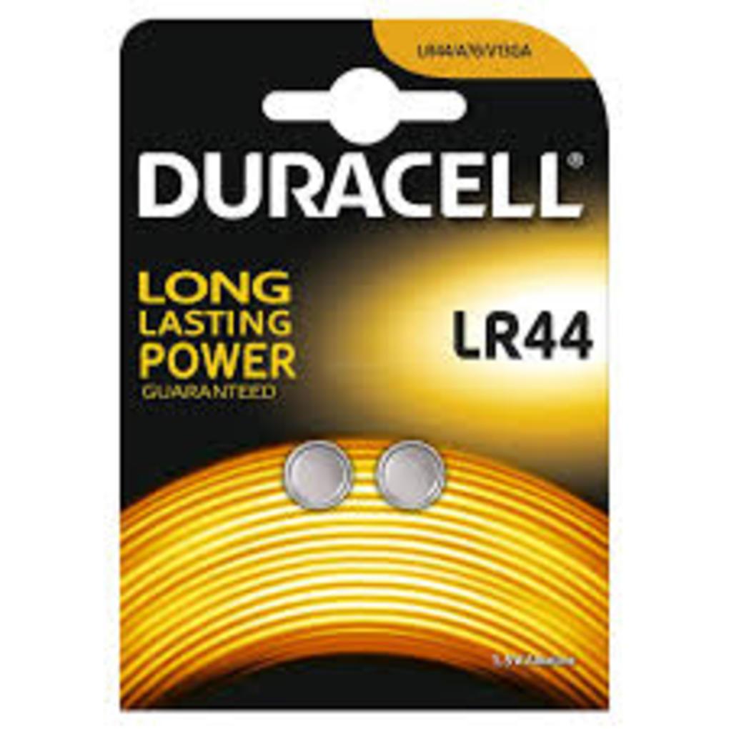 Botão pack 2 baterias lr44 - Duracell
