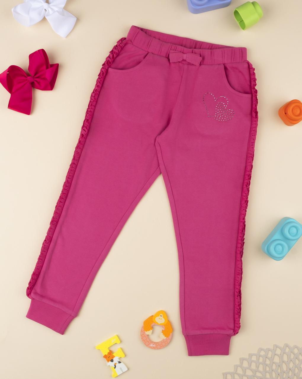 Garota pantalone rosa - Prénatal