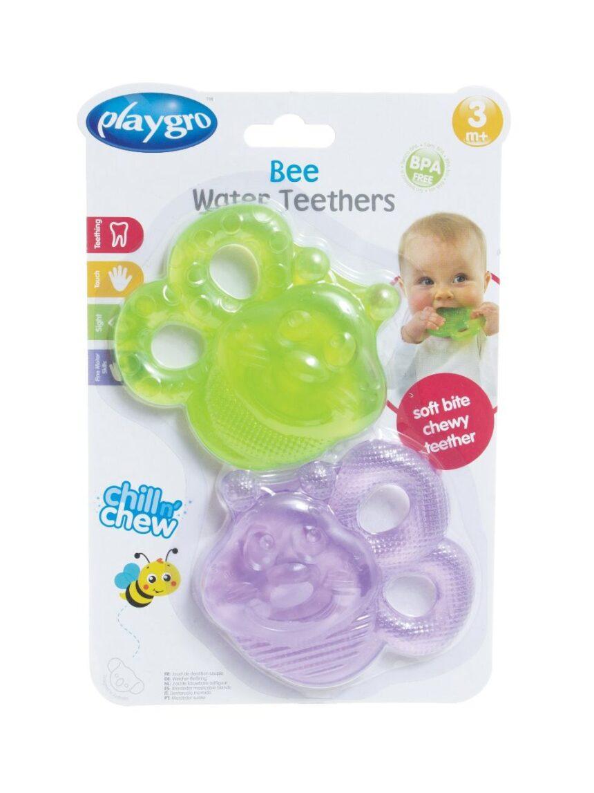 Pack 2 anéis de dente de água de abelha - Playgro