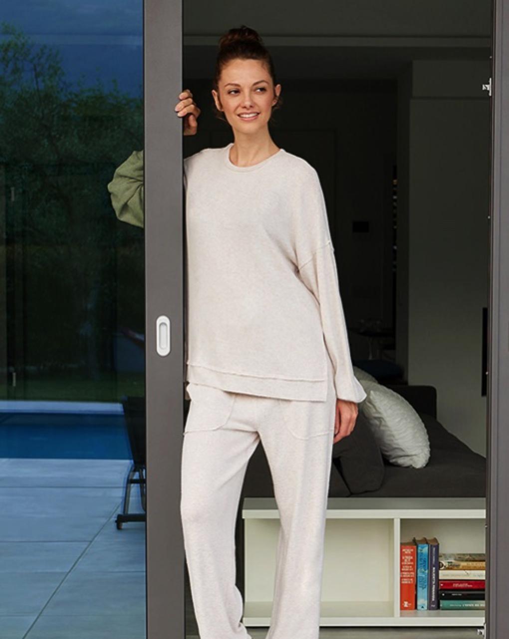 Suéter maternidade com efeito tricô - Prénatal