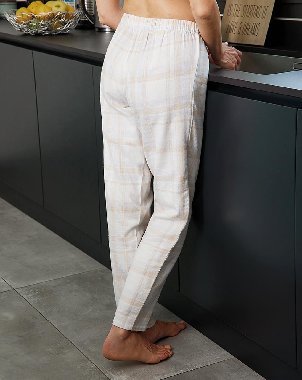 Calças de pijama de flanela em sarja - Prénatal