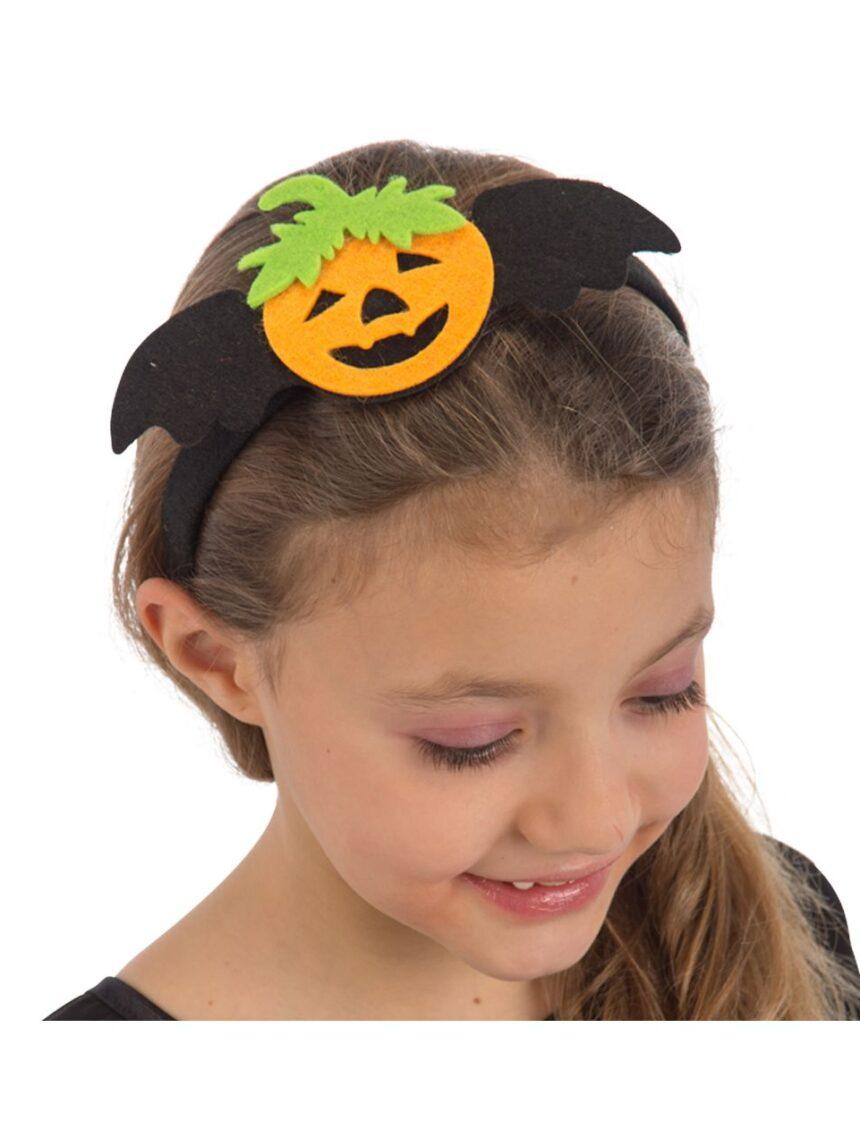 Headband de abóbora em feltro - Carnival Toys