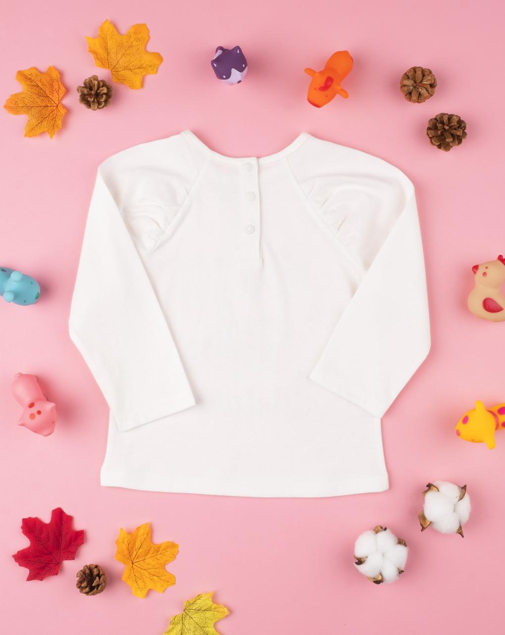 "T-shirt menina ""nature"" - Prénatal"
