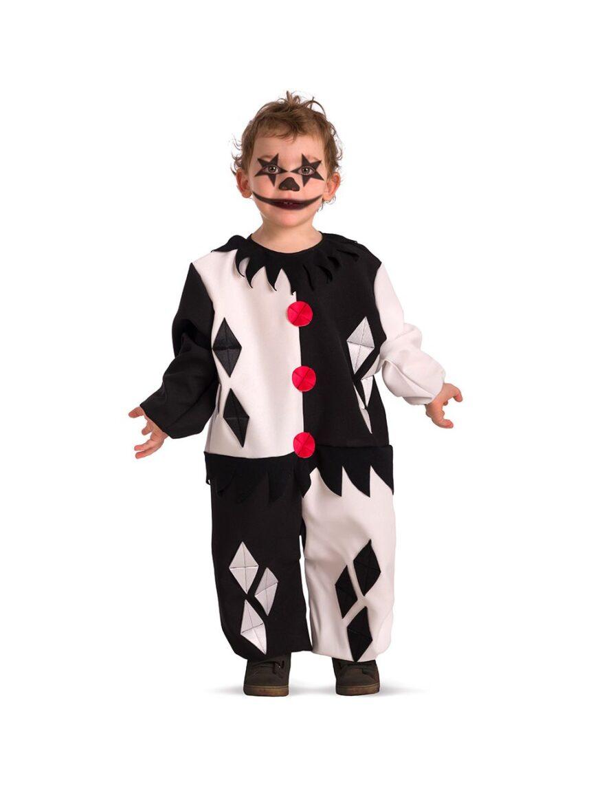 Traje clown horror baby tg.ii - Carnival Toys